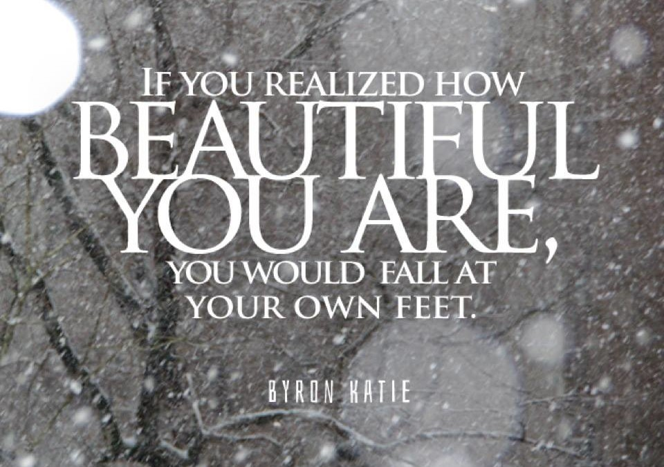 Practice noticing your own beauty